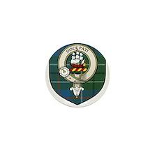 Duncan Clan Crest Tartan Mini Button