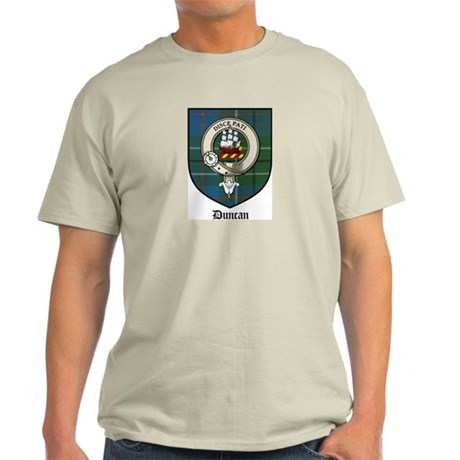 Duncan Clan Crest Tartan Light T-Shirt