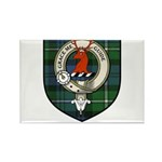 Forbes Clan Crest Tartan Rectangle Magnet (100 pac