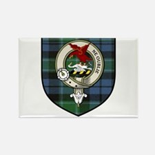 Graham Clan Crest Tartan Rectangle Magnet