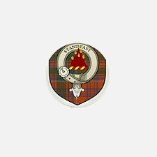 Grant Clan Crest Tartan Mini Button