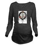 Gray.jpg Long Sleeve Maternity T-Shirt