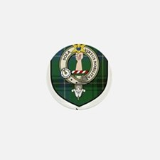 Henderson Clan Crest Tartan Mini Button