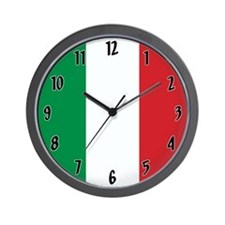 Flag of Italy Wall Clock
