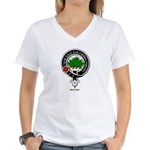 Irvine.jpg Women's V-Neck T-Shirt