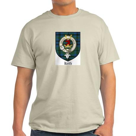 Keith Clan Crest Tartan Light T-Shirt