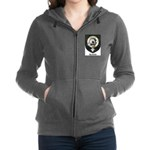 Kennedy Clan Crest Tartan Women's Zip Hoodie