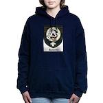 Kennedy Clan Crest Tartan Women's Hooded Sweatshir