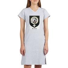 Kennedy Clan Crest Tartan Women's Nightshirt