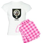 Kennedy Clan Crest Tartan Women's Light Pajamas