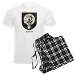 Kennedy Clan Crest Tartan Men's Light Pajamas