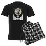 Kennedy Clan Crest Tartan Men's Dark Pajamas