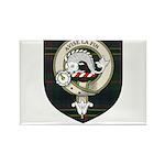 Kennedy Clan Crest Tartan Rectangle Magnet (100 pa
