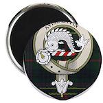 Kennedy Clan Crest Tartan Magnet