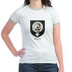 Kennedy Clan Crest Tartan Jr. Ringer T-Shirt