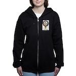 Leavy Clan Crest badge Women's Zip Hoodie