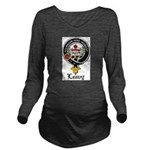 Leavy Clan Crest badge Long Sleeve Maternity T-Shi