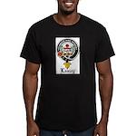Leavy Clan Crest badge Men's Fitted T-Shirt (dark)
