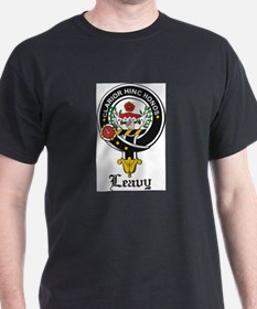 Leavy Clan Crest badge T-Shirt