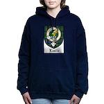 Leslie Clan Crest Tartan Women's Hooded Sweatshirt