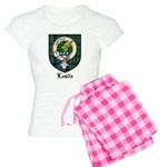 Leslie Clan Crest Tartan Women's Light Pajamas