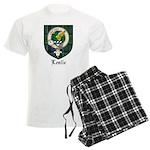 Leslie Clan Crest Tartan Men's Light Pajamas