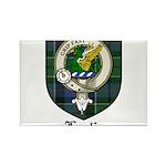 Leslie Clan Crest Tartan Rectangle Magnet (100 pac
