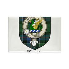 Leslie Clan Crest Tartan Rectangle Magnet