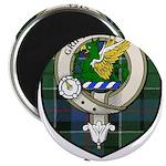 Leslie Clan Crest Tartan Magnet