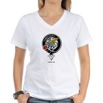 Leslie.jpg Women's V-Neck T-Shirt