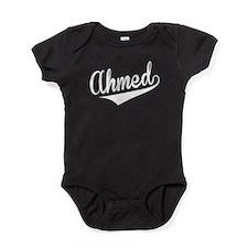 Ahmed, Retro, Baby Bodysuit