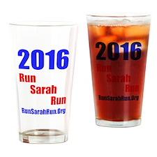 2016 RunSarahRun Drinking Glass