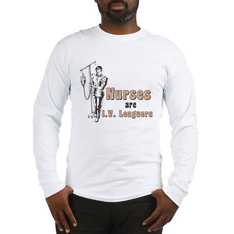 Nurses I.V. Leaguers Long Sleeve T-Shirt