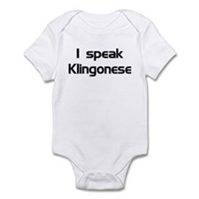 speak Kligonese Infant Creeper