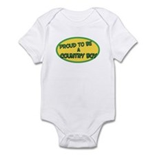 Proud Country Boy GY Infant Bodysuit