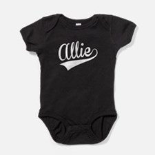 Allie, Retro, Baby Bodysuit