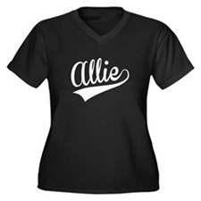 Allie, Retro, Plus Size T-Shirt