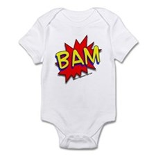 BAM Comic saying Infant Bodysuit
