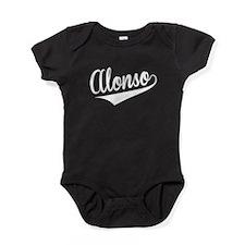 Alonso, Retro, Baby Bodysuit