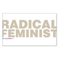 Radical Feminist Decal