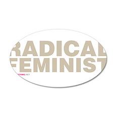 Radical Feminist Wall Decal