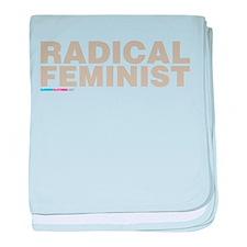Radical Feminist baby blanket