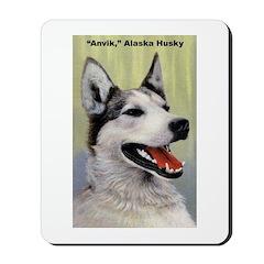 Alaska Husky Dog Mousepad