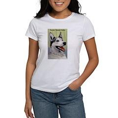 Alaska Husky Dog Tee