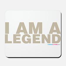 I Am A Legend Mousepad