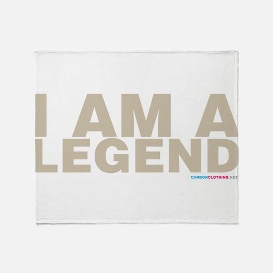 I Am A Legend Throw Blanket