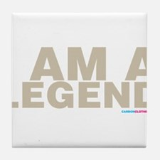 I Am A Legend Tile Coaster