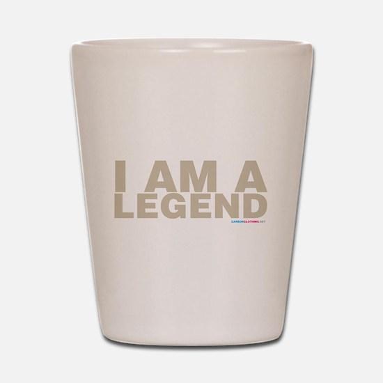 I Am A Legend Shot Glass
