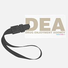 DEA Drug Enjoyment Agency Luggage Tag
