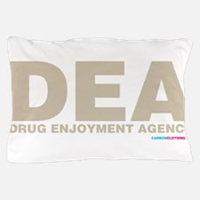 DEA Drug Enjoyment Agency Pillow Case